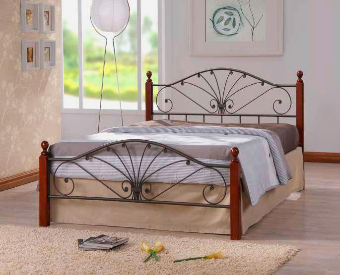 Кованая кровать (51)