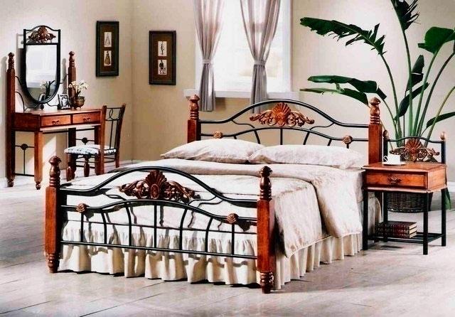 Кованая кровать (52)