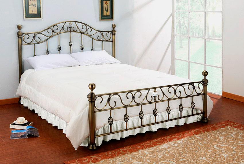 Кованая кровать (61)