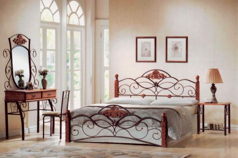 Кованая кровать (64)