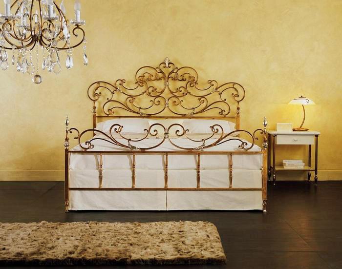 Кованая кровать (7)