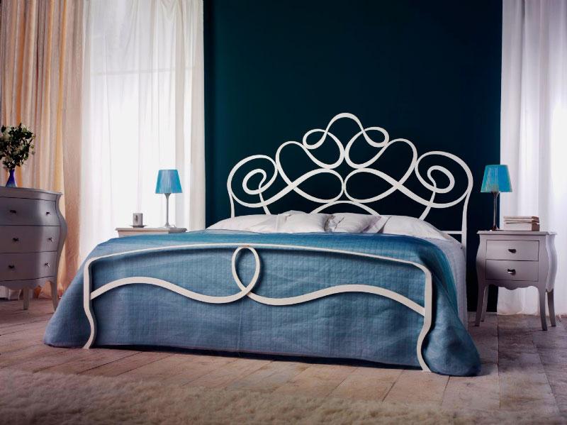 Кованая кровать (9)