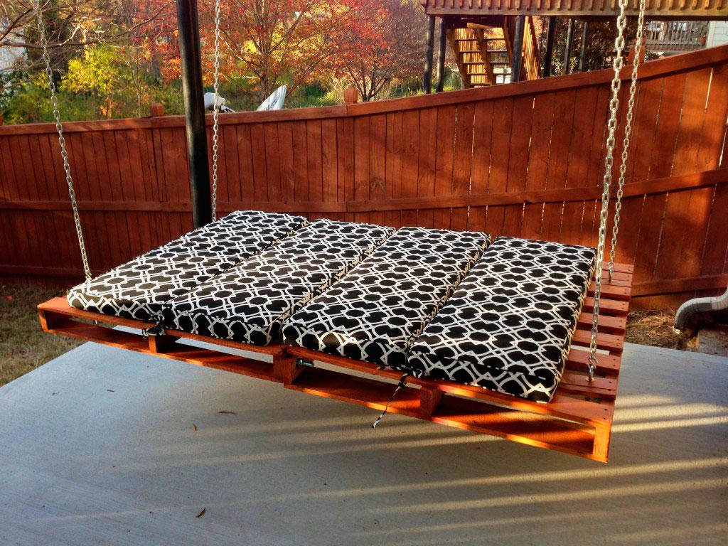 Подвесная кровать (15)