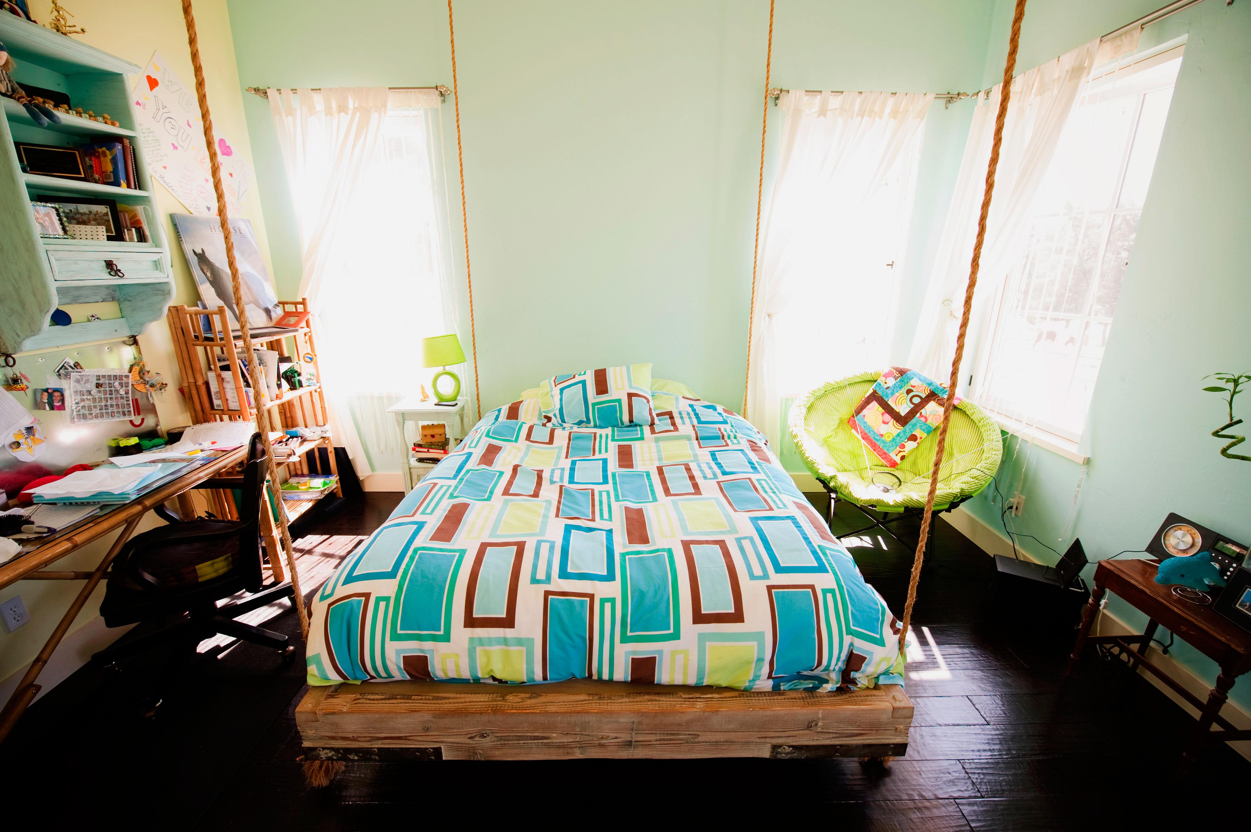 Подвесная кровать (16)