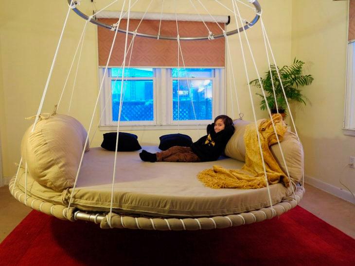 Подвесная кровать (40)