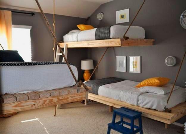 Подвесная кровать (42)