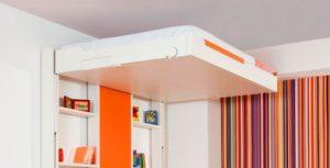 Подъёмная к потолку BedUp кровать