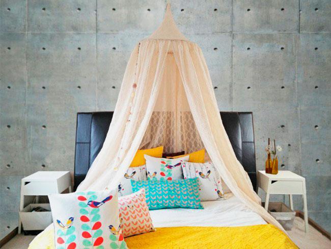 Балдахин корона над детской кроватью