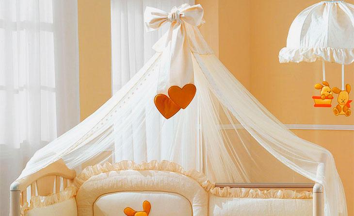 Фото балдахина над кроваткой младецна
