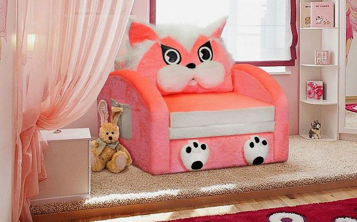 Кресло-кровать для девочки