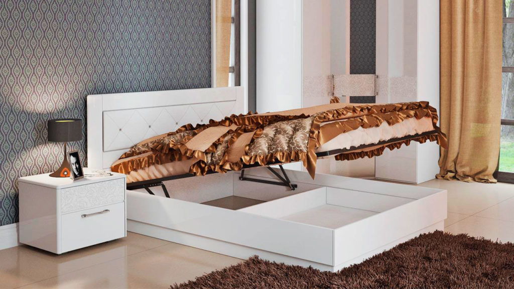 Кровать с подъёмным основанием