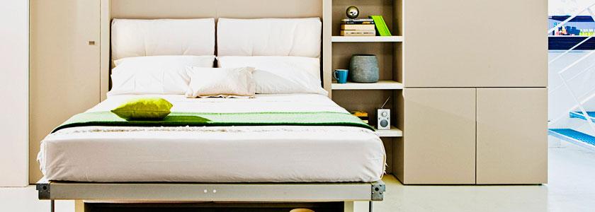 Двухспальная кровать трансформер