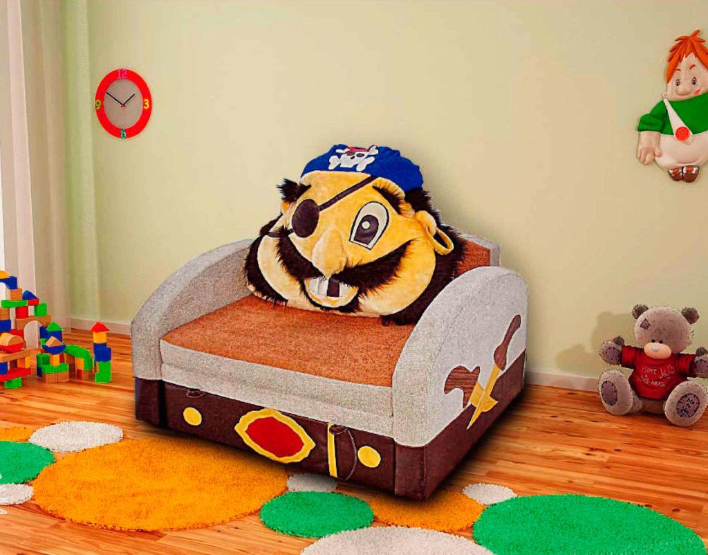 Фото раскладного детского кресла Бармалей