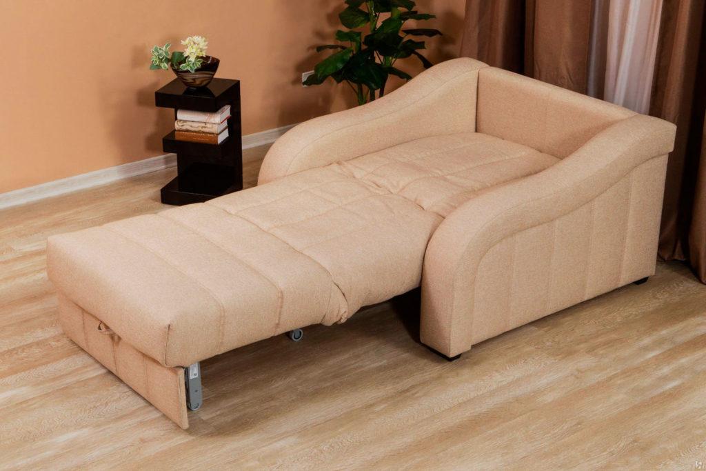 Ортопедическое раскладное кресло-кровать с механизмом аккордеон
