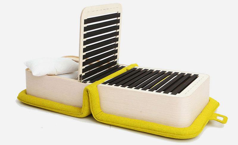 Фото раскладного кресла с ортопедическим основанием на ламелях