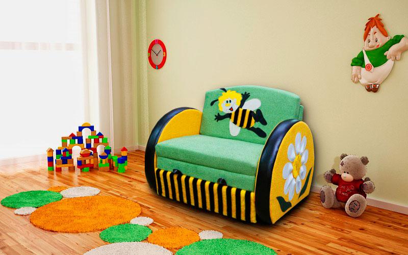 Фото детского раскладного кресла-кровати