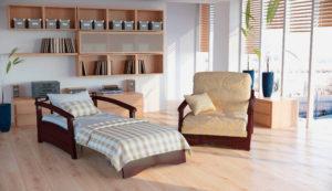 """Ортопедические кресла для сна с механизмом раскладывания""""Аккордеон"""""""