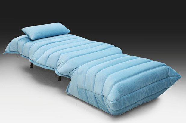Раскладное кресло без подлокотников с ортопедическим спальным местом