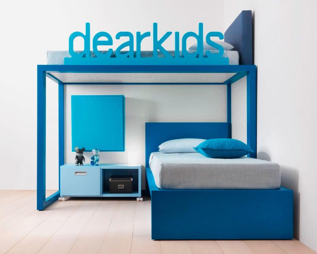 Кровать-чердак в интерьере