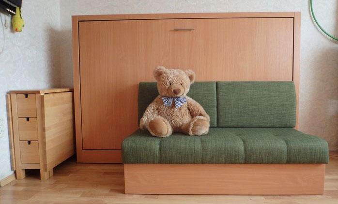 Комод-кровать с диваном