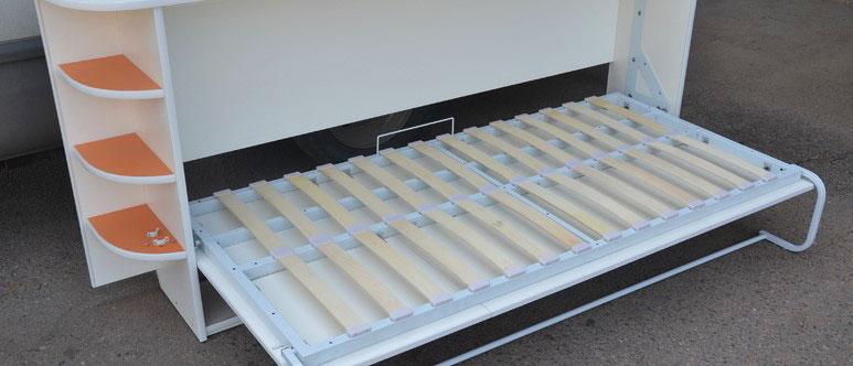 Кровать-комод с ортопедическим основанием на ламелях
