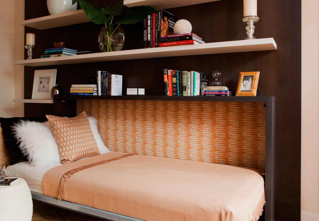 Кровать-комод в интерьере