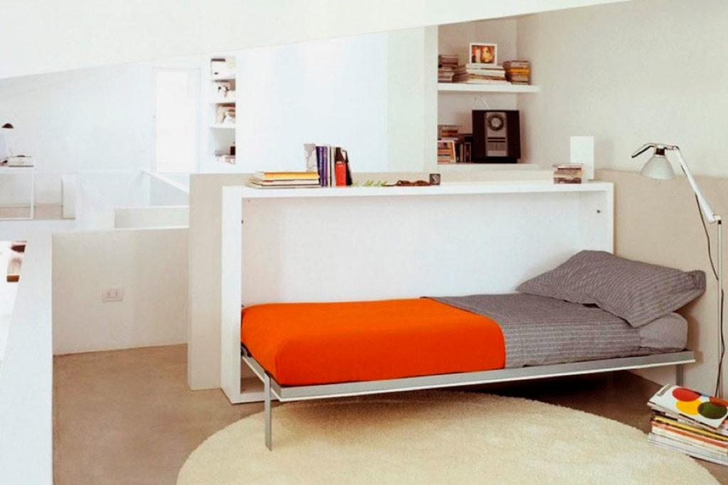 Односпальная кровать-комод трансформер