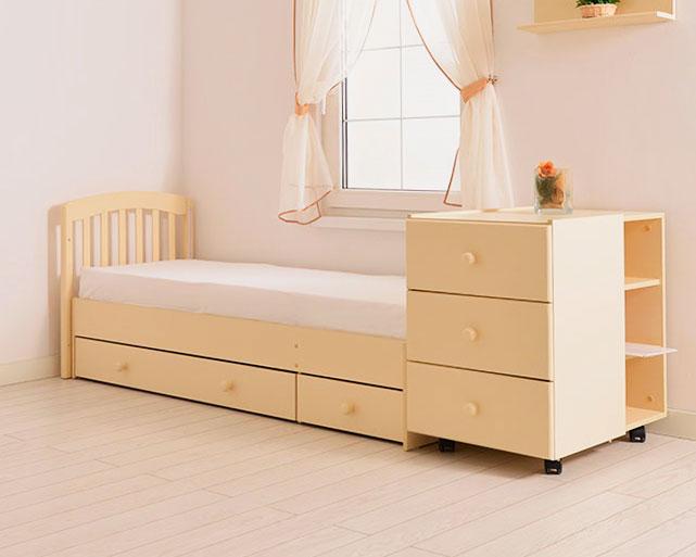 Трансформируемая кроватка для новорожденных с большой кроватью для шкальника