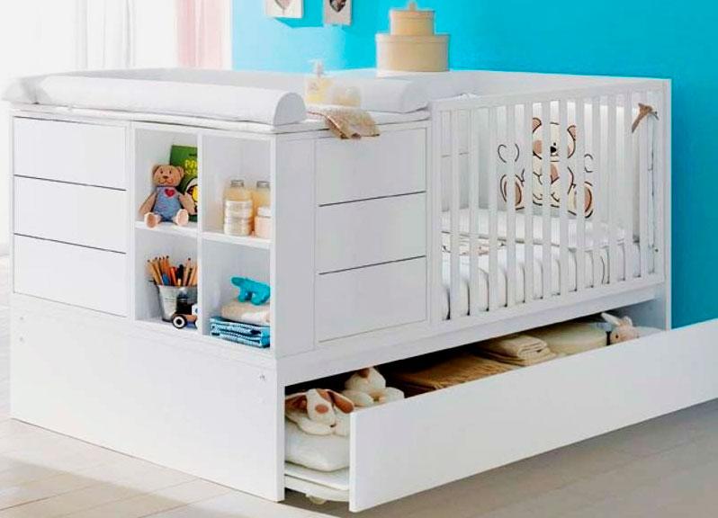 Комплект трансформируемой мебели на вырост для малышей