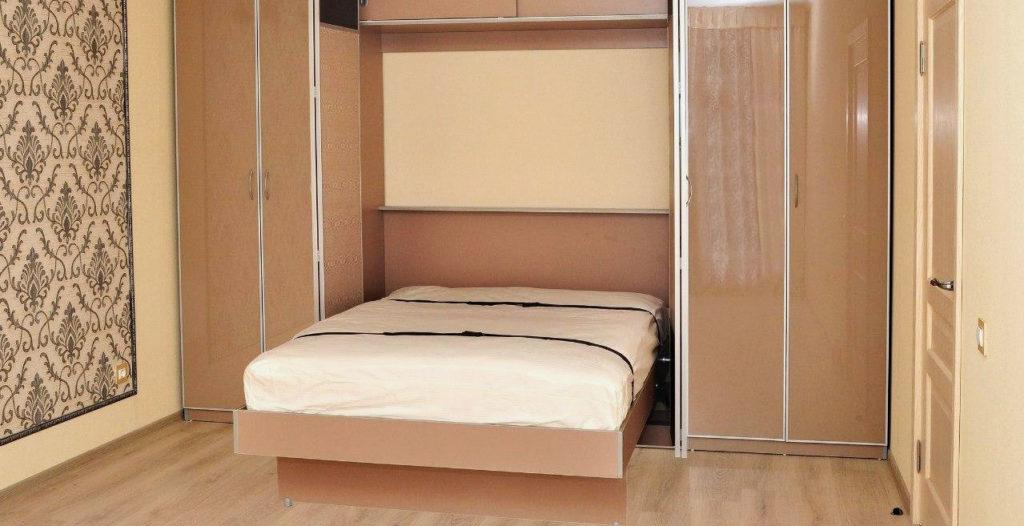 Шкаф кровать совмещенная с гардеробом