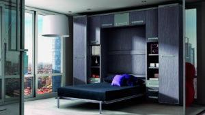 Двуспальная шкаф-кровать