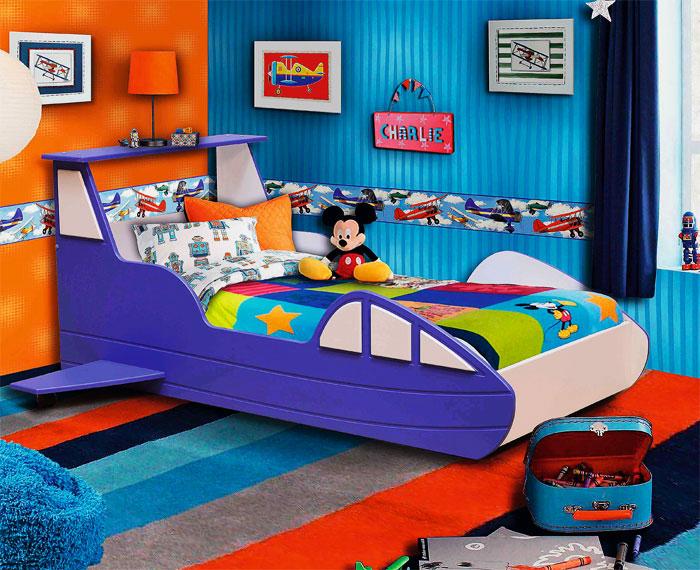 Фото кровати в стиле самолёта