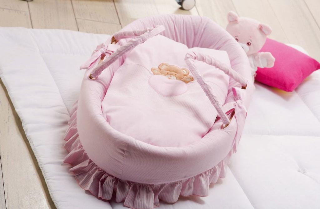 Переносная кроватка для грудного ребенка