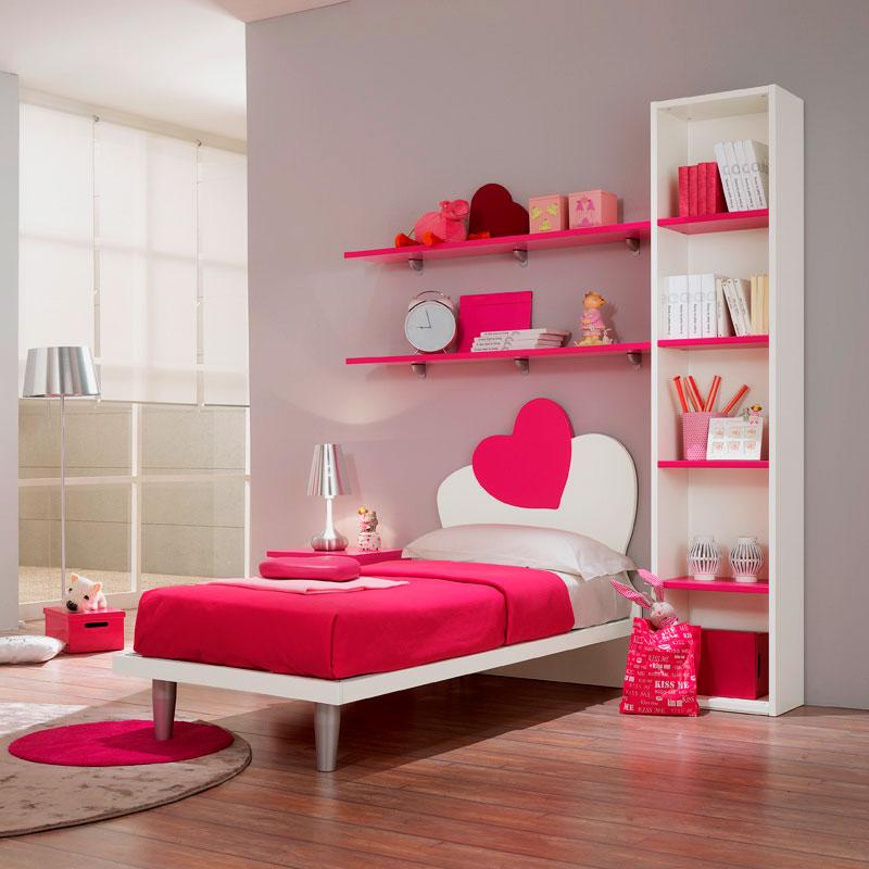 Стильный спальный гарнитур для девушек подростков