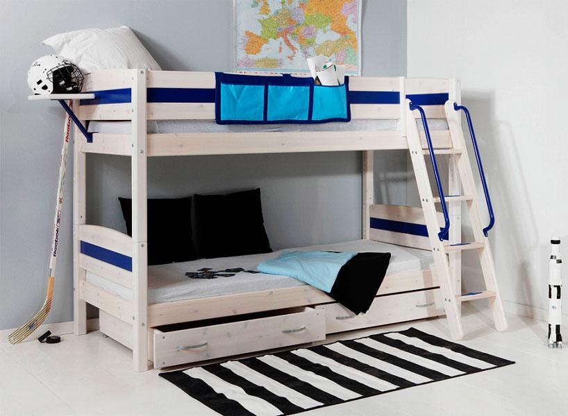 Двухъярусная кровать для мальчиков подростков