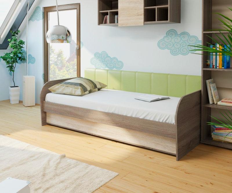 Фото кровати для подростка в интерьере
