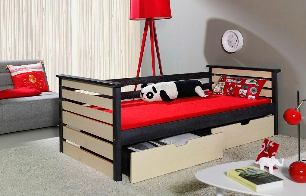 Кровать в интерьере комнаты подростка