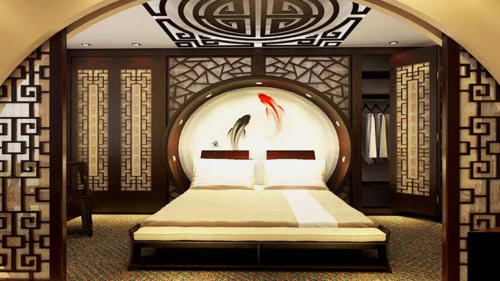Спальная в стиле фен-шуй