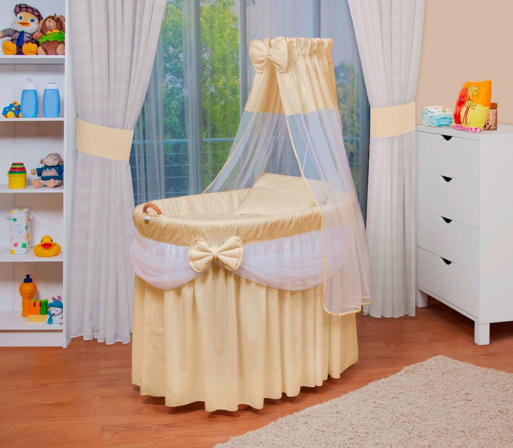 Люлька для младенцев с балдахином