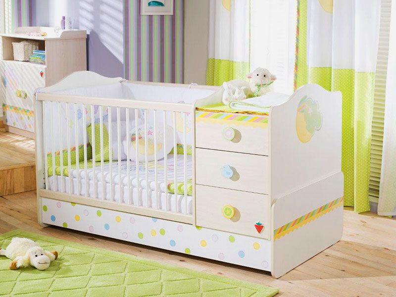 Детская кровать-трансформер на вырост