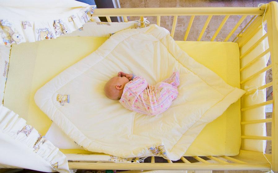 Фото спального места младенца