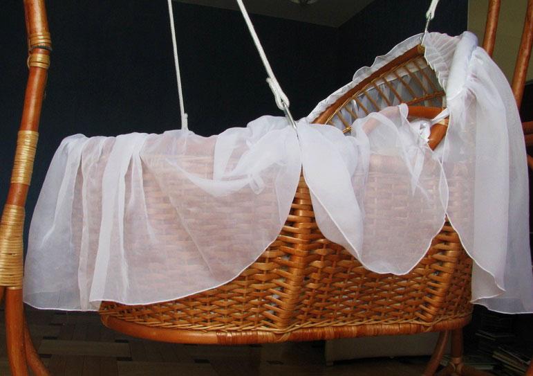 Плетеная подвесная люлька