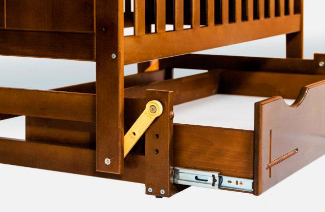 Фото маятникового механизма детской кроватки