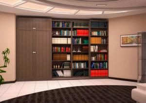 Фото шкафа для книг