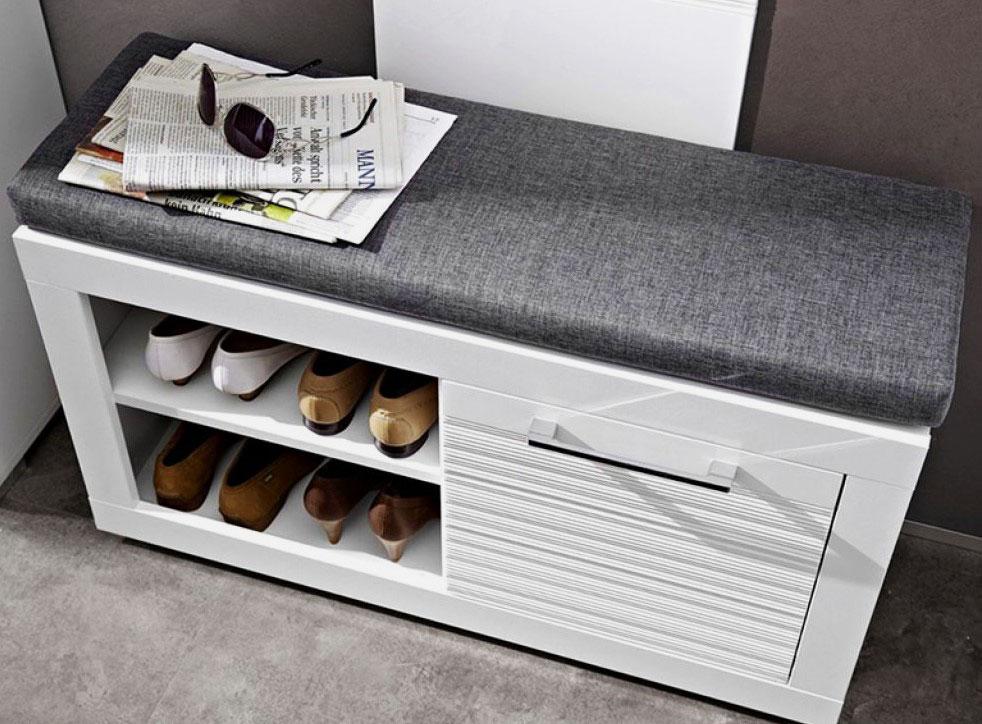 Фото обувницы с мягким сидением