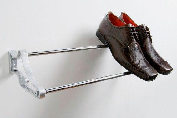Фото пристенной подставки под обувь