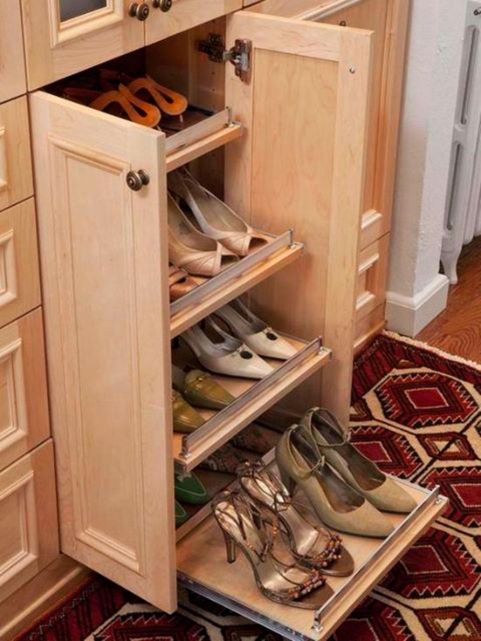 40 фото! компактная полка для обуви может быть вместительной.