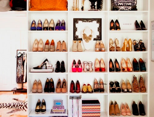 Фото встроенного шкафа для обуви
