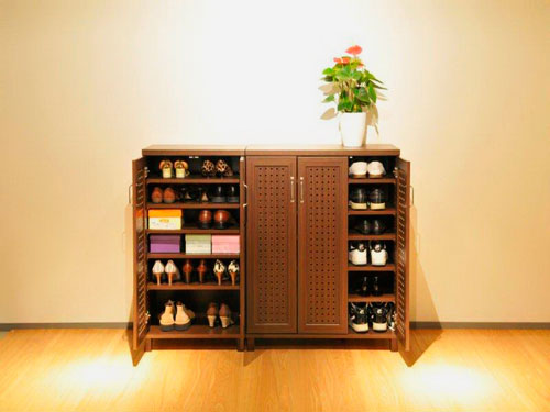 Фото шкафа для хранения обуви в прихожую