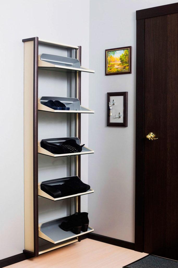 Шкаф для обуви с откидной системой хранения обуви